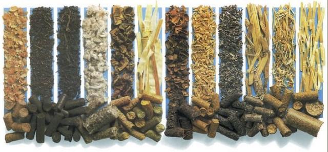 Разновидности топливных пеллетов