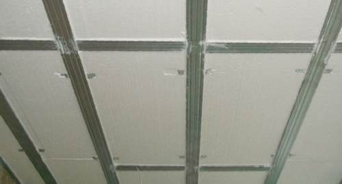 Термоизоляция плоской крыши изнутри
