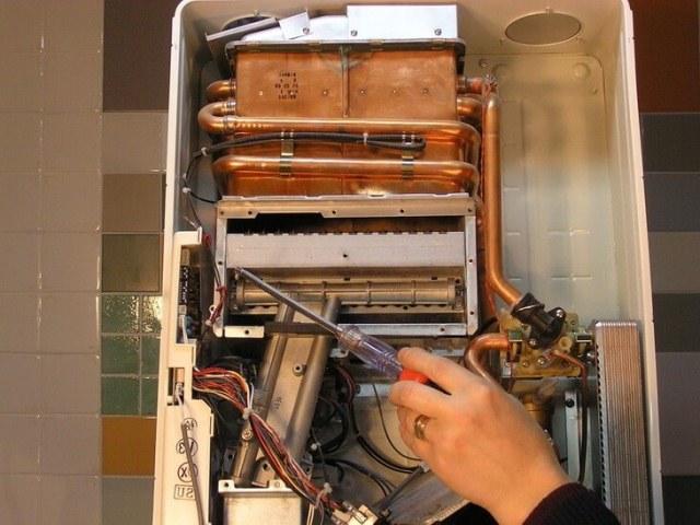 Как снять самому теплообменник с газовой колонки горизонтальные кожухотрубчатые теплообменники