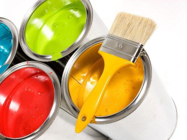 Виды красок для труб отопления