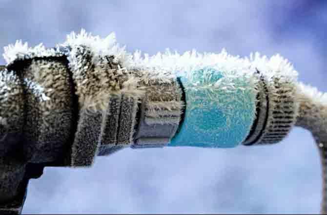 Замерзание воды в отопительном контуре