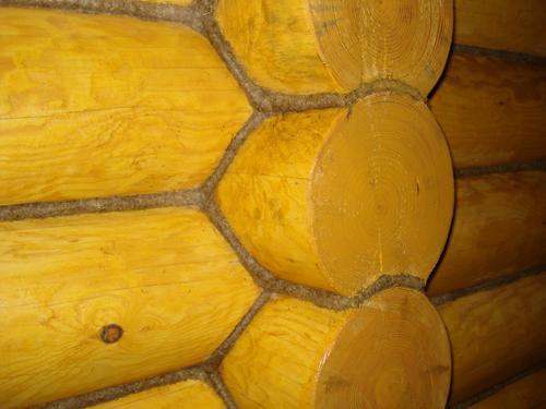 Утепление деревянного дома джутом