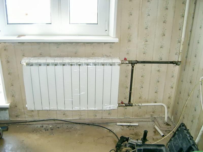 Биметаллические, алюминиевые радиаторы отопления и их характеристики