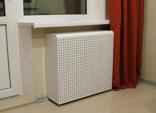ПВХ панели для декора отопления