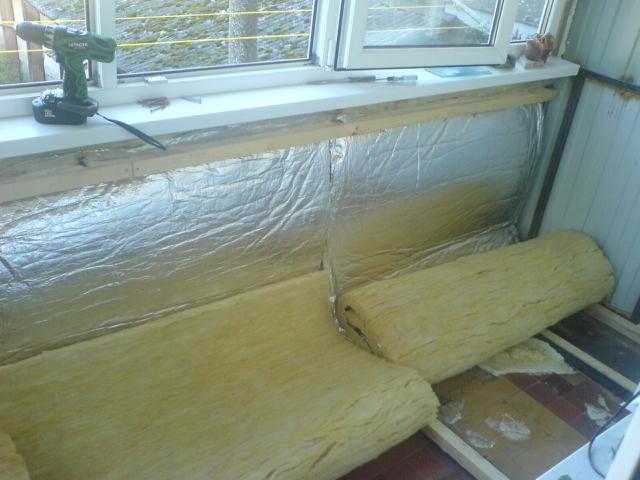 Видео как утеплить балкон своими руками в панельном доме