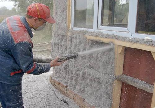 Утепление стен веранды пенополистеролом