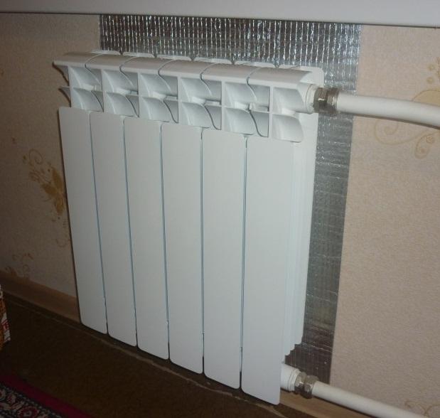 Сохранение теплоотдачи при помощи фольгированного утеплителя