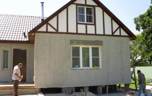 Ремонт фундамента деревянного дома усиление