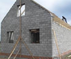 Утепление дома из керамзитобетонных блоков